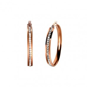 Milano Steel Earrings
