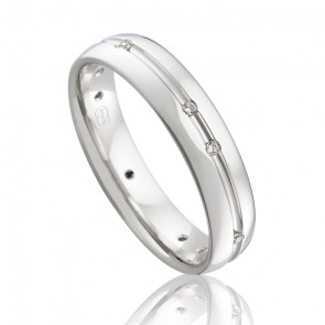 9k Diamond Wedding Ring