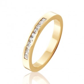 18k Diamond Set Wedding Ring - 0.30ct Total Diamond Weight
