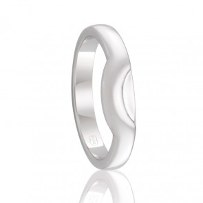 18kt Fitted Wedding Band