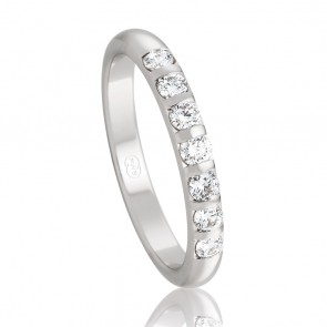 18k Diamond Wedding Ring - Ezi Fit - 0.35ct Total Diamond Weight
