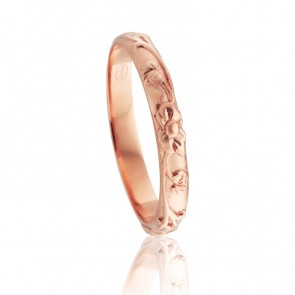 18k Ladies Floral Ring