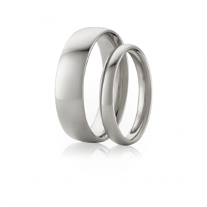 8mm Platinum Original Comfort Wedding Band