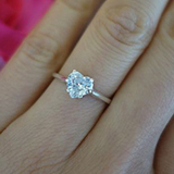 0.70ct Heart Shape Diamond