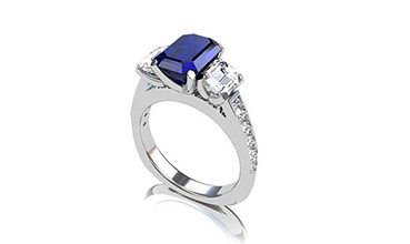 Sapphire Rings