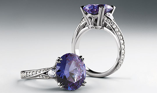 Beautiful Diamond & Gemstone Ring Styles